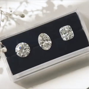 Different shape diamonds comparison