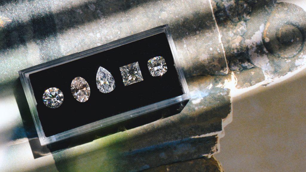 different shape diamonds