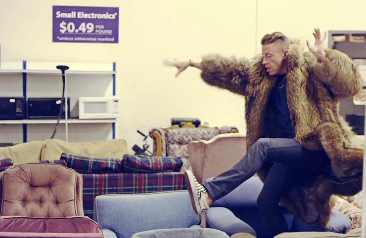 Macklemore & Ryan Lewis Thrift Shop goodwill
