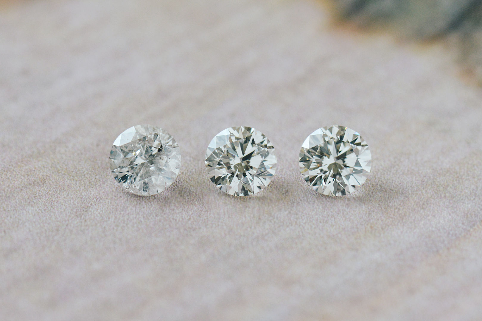 round diamond clarity comparison