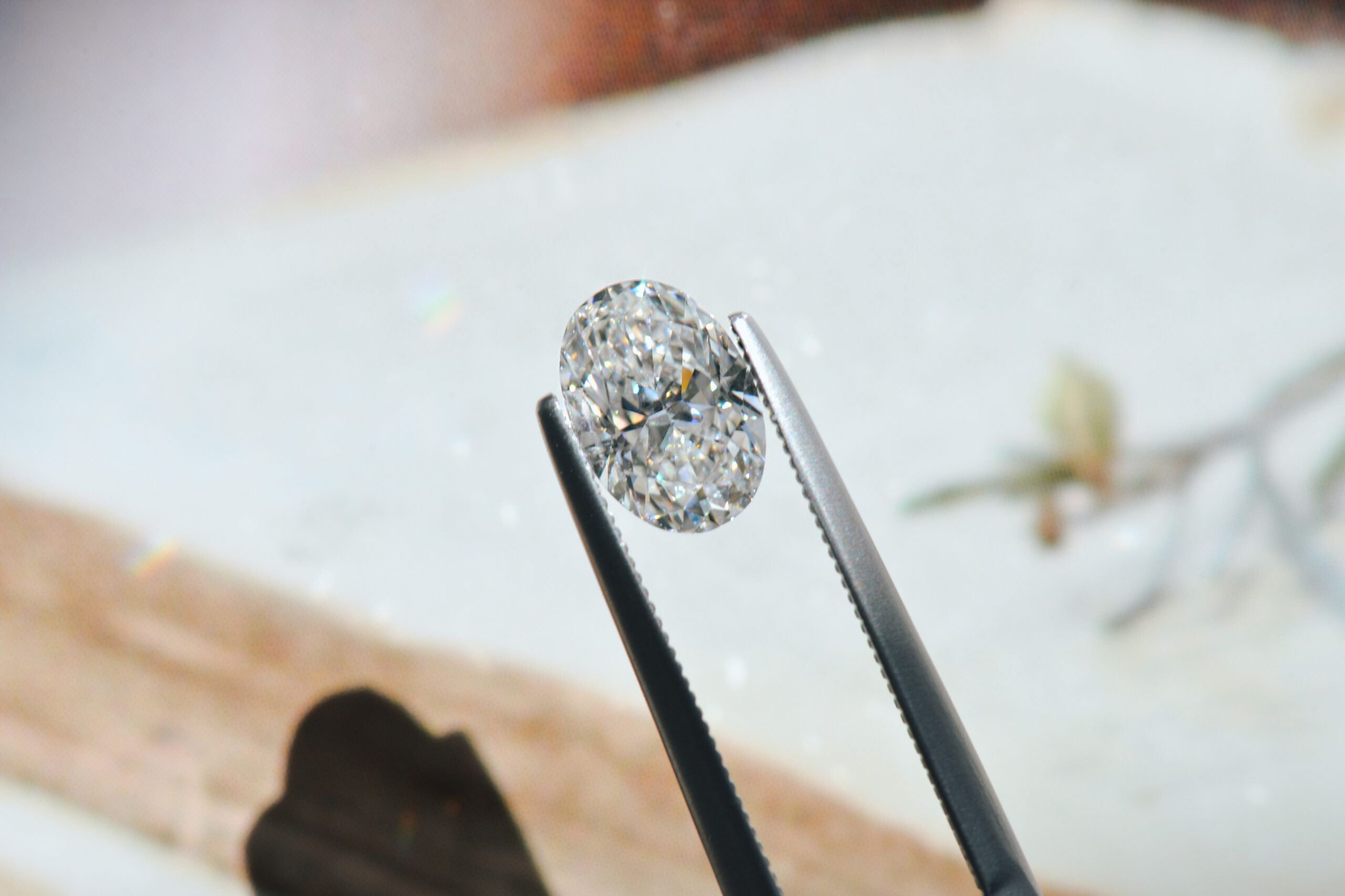 oval shaped diamond
