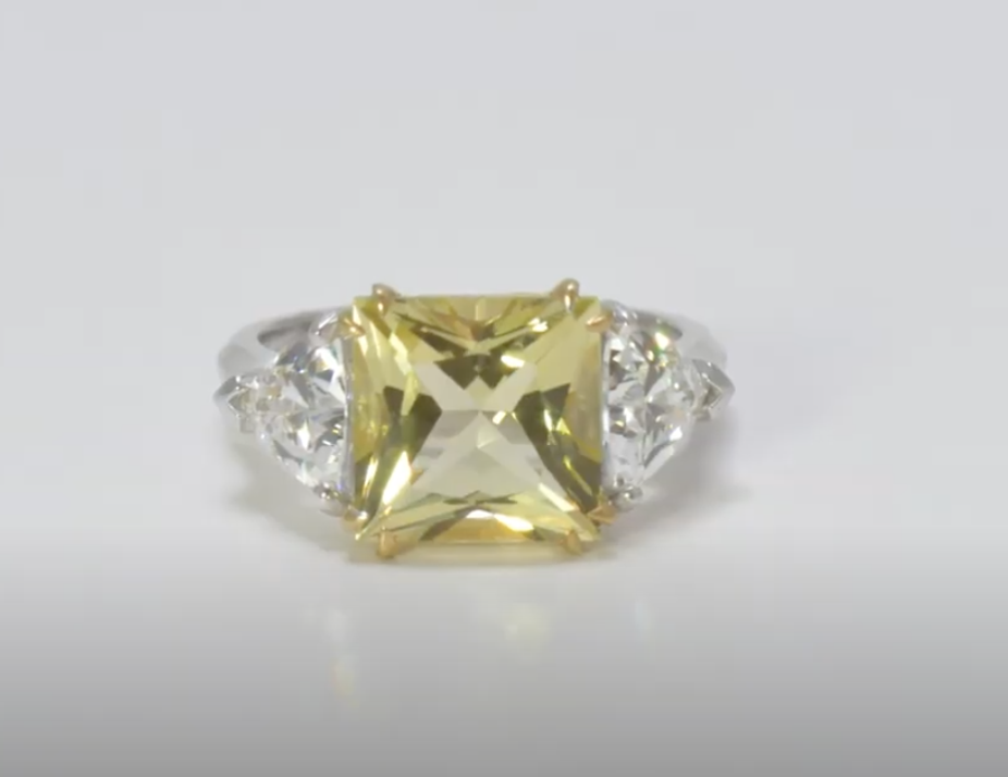 Yellow color diamond