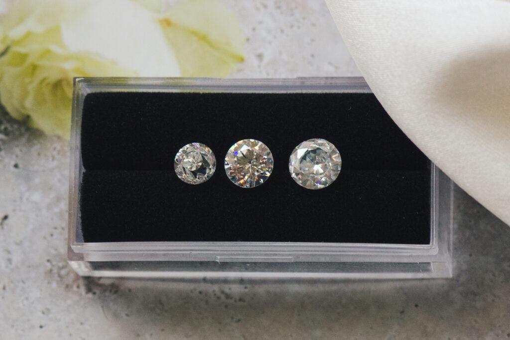 1 carat diamonds size differences