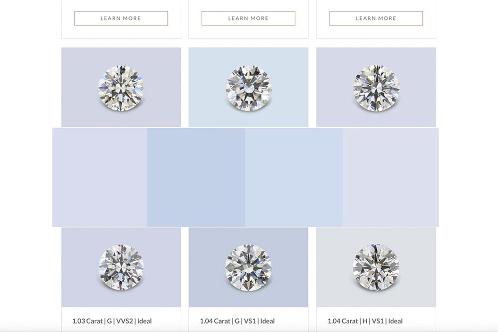 diamond buying online selection myth